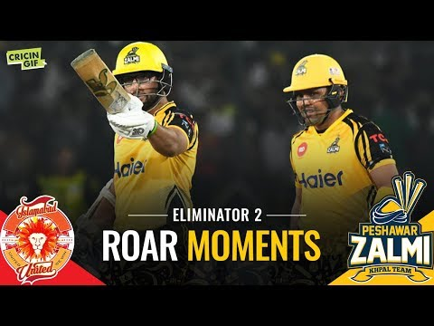 PSL 2019 Eliminator 2: Islamabad United vs Peshawar Zalmi | Roar Moments