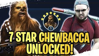 7 Star Chewbacca Legendary Guide! F2P, No Zetas, No Bossk, No High Speed! | Galaxy of Heroes