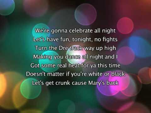 Mary J Blige - Family Affair, Lyrics In Video