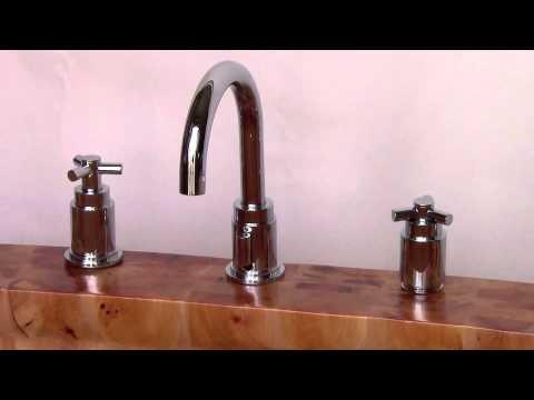 Video for 61-inch Free Standing Cedar Wood Bath Tub with Chrome Tub Filler