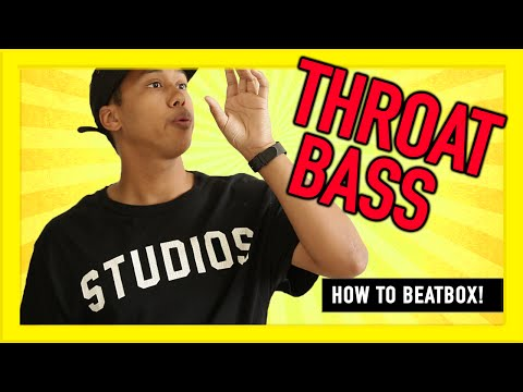 How to beatbox for beginners?- Throat Bass