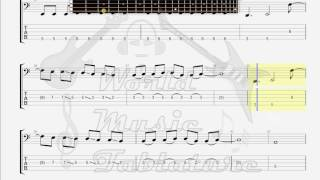 Evergrey   Dark Waters BASS GUITAR TAB