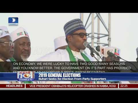 Buhari Campaign Train Arrives In Gombe State
