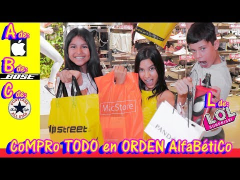 Compro TODO en ORDeN AlfaBetiCo | TV Ana Emilia