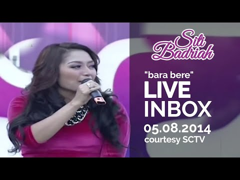 siti badriah bara bere live at inbox 05 08 2014 courtesy sct