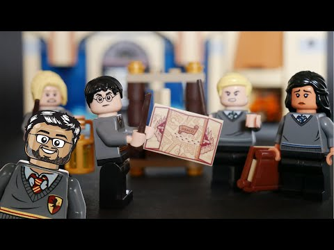 Vidéo LEGO Harry Potter 40419 : Ensemble d'accessoires des étudiants de Poudlard