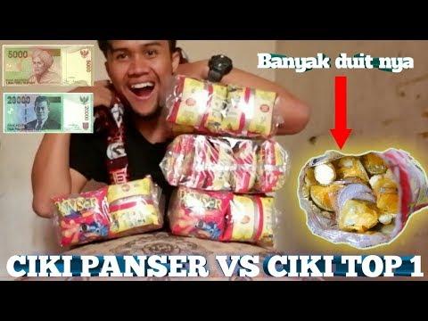 UNBOXING CIKI PANSER VS TOP 1 BERHADIAH UANG TUNAI BANYAK