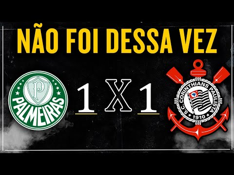 Palmeiras x Corinthians | Ao vivo | Final Campeonato Paulista de 2020
