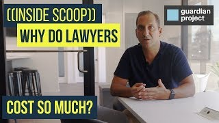 ((Inside Scoop)) Why do lawyers cost so much?