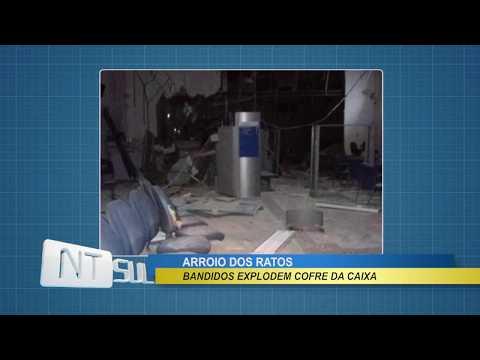 Bandidos atacam agência da Caixa em Arroio dos Ratos