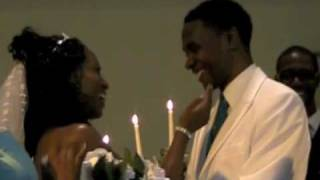 """When I Said I Do""  by Chanté Moore & Kenny Lattimore :  Anthony and Fernelle Davis'  Wedding"