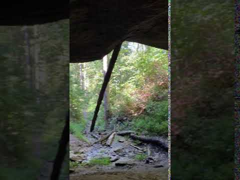 Inside Buzzard Cave (~0.5 mile hike from Camp)