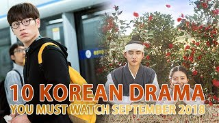 Gambar cover 10 Korean Drama You must watch in September 2018