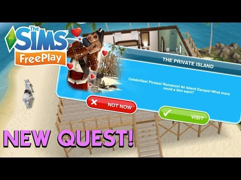 love and treasure quest sims freeplay