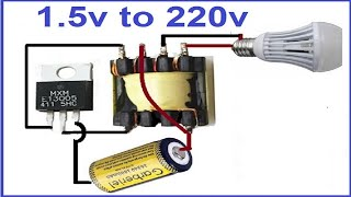Download Video 1.5 volts to 220 AC Inverter MP3 3GP MP4