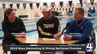 2018 Boys Swimming and Diving Sectional Preview