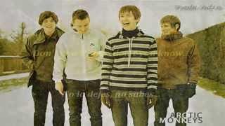 Arctic Monkeys- Choo choo (Inglés y Español)