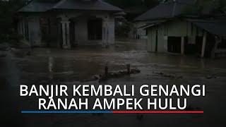 Banjir Kembali Genangi Ranah Ampek Hulu Pesisir Selatan, Air Mulai Tinggi Sejak Senin Sore