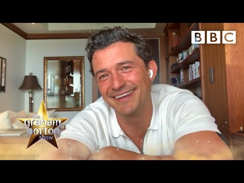Orlando Bloom has been singing to his daughter with Katy Perry | The Graham Norton Show - BBC