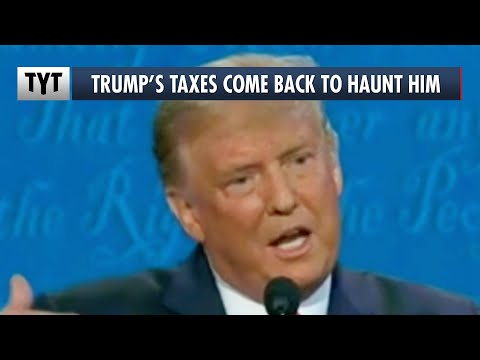 Trump Tripped Up When Asked About His Taxes