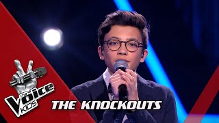Justin - 'How Do You Sleep' | Knockouts | The Voice Kids | VTM