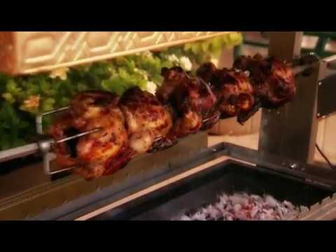 Gas/charcoal combo grill for all meat types and sizes-Ninar Grill(MG50-MG52-MG52 Royal) – منقل نينار