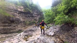 preview picture of video 'Canyoning in der Almbachklamm (Salzburg)'