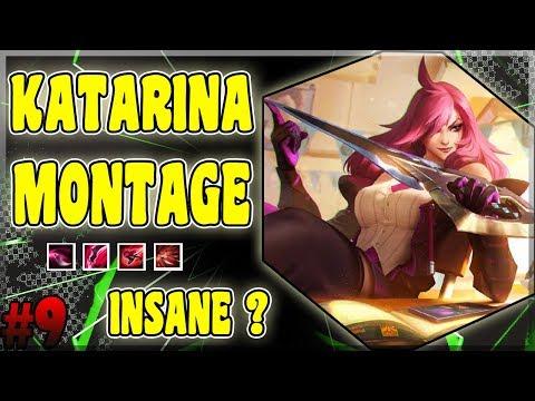 Katarina Montage #9 - Best Katarina Plays - League of Legends