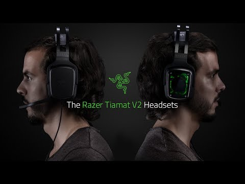 Razer Tiamat 7.1 V2 Analog/Digital Surround Sound Gaming Headset