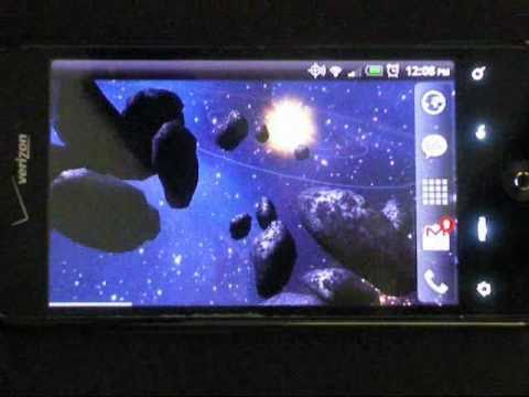 Video of Asteroid Belt Free L Wallpaper
