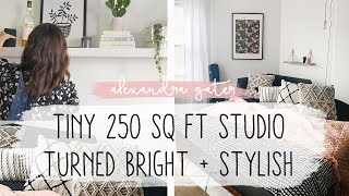 CLUTTERED 250 SQ FT STUDIO APARTMENT GETS A MAJOR MAKEOVER | STUDIO FIX S1 E4