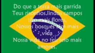 Himno Nacional del Brasil Hino Nacional do Brasil