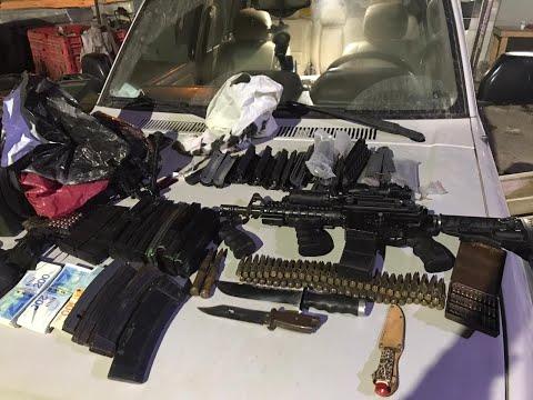 הפעילות לחשיפת נשקים לא חוקיים נמשכת • צפו בפשיטה
