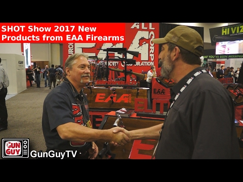 New Products from EAA Firearms - SHOT Show Interview