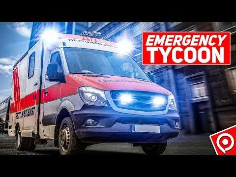 EMERGENCY TYCOON: Feuerwehr, Polizei, Rettungsdienst im eigenen HQ! Gameplay Emergency Tycoon