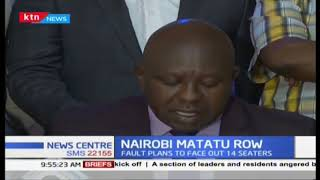 Nairobi matatu row : NTSA collude with some matatu leaders allegedly, to remove 14 seater matatus
