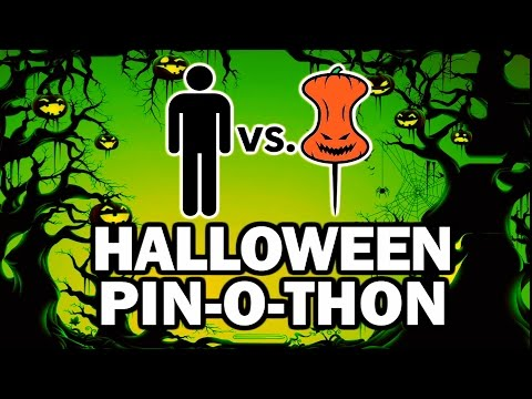 DIY Halloween PIN-O-THON - Man Vs Pin #101