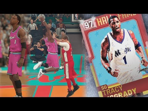 NBA 2K19 My Team - Pink Diamond Tracy McGrady Gameplay!