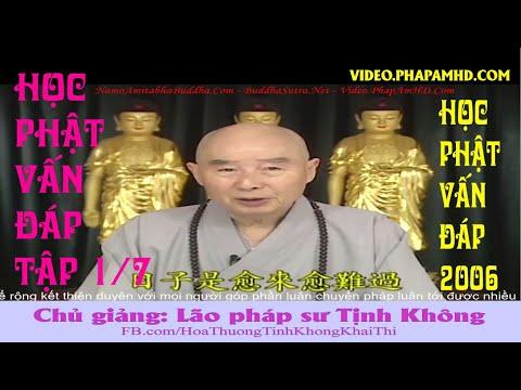 Học Phật Vấn Đáp tập 1, Pháp Sư Tịnh Không Trả Lời Các Câu Hỏi Của Đồng Tu Hồng Kông