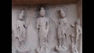Video : China : BingLing Temple 炳灵寺 Grottoes, YongJing, GanSu province