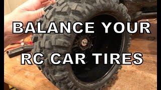 Balancing RC Car Tires