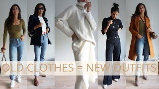 15 Minimalist Outfits When You Think You Have Nothing To Wear | Shop Your Closet