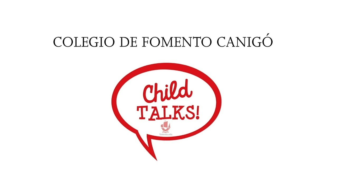 Child Talks! The English Oratory Project of Fomento