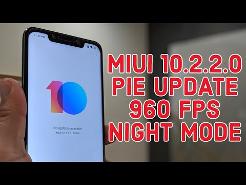 Pocophone F1 - MIUI 10.2.2.0 Stable Update Android Pie