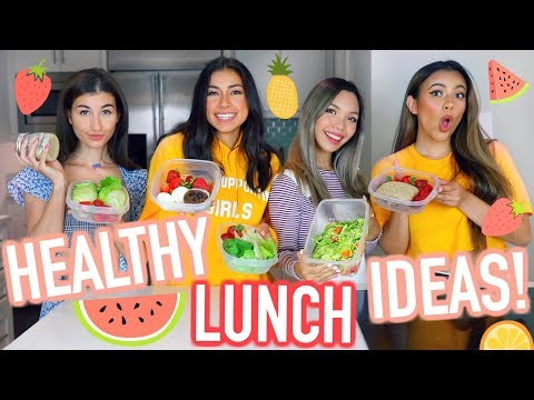 Healthy Lunch Ideas for School & Work!!! + GIVEAWAY! | Jeanine Amapola