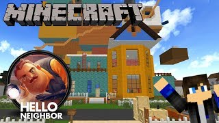 Minecraft 創世神 你好鄰居Alpha 3對戰地圖!躲開你的鄰居開啟他的房門吧!1.7.10【至尊星】