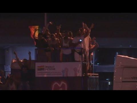 El Orgullo más trans tiñe Madrid con los colores del arcoiris