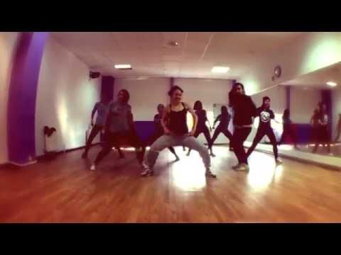 Dancehall and afro house with Tanusha | Iyanya - Kukere choreography at Bronx D.S.