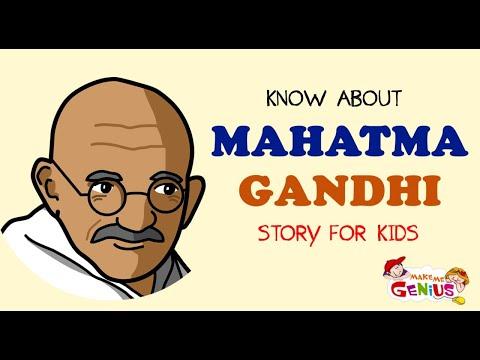 Know About Mahatma Gandhi | Story for Kids #Mahatma_Gandhi