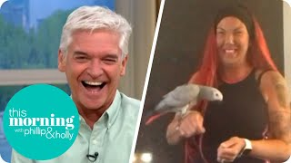 'Chanel, Chanel!' The Woman Who Lost Her Parrot And Became a Star   This Morning